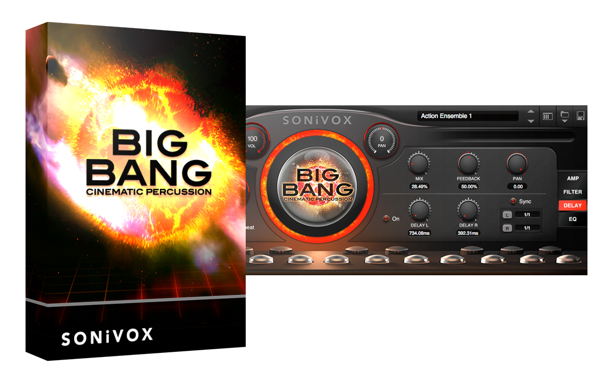 Big Bang Cinematic Percussion 2.5